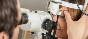 Ophthalmologist Testing Eyes - Medical Application Utilising SF6 Gas